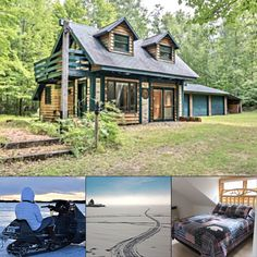 Looking for a home base for a cold-weather getaway this year? Lakeside Pines 2 has everything you need for a cozy and fun family vacation — book direct with Northwoods Vacation Rentals:   #bookdirect #itscabintime #travelwi #Winter2020