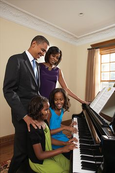 The Obama's = Our First Family