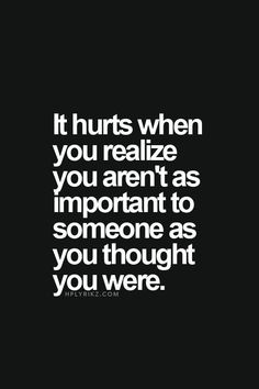 it hurts when you realize - Google Search