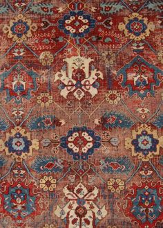 Persian Carpet, Persian Rug, Oriental, Asian Rugs, Terraced House, Tribal Rug, Asian Art, Rugs On Carpet, Textiles