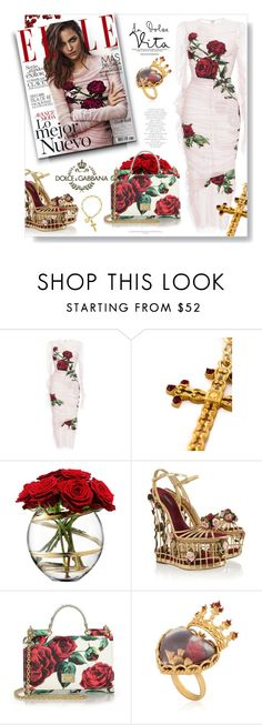"""""""La Dolce Vita..."""" by desert-belle ❤ liked on Polyvore featuring Dolce&Gabbana, LSA International, dolceandgabbana, 424 and polyvoreeditorial"""