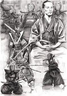 Friendica #samurai #art