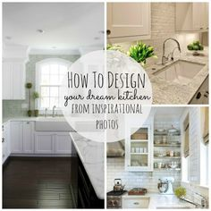 How to design your dream kitchen from your inspirational photos