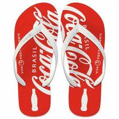 Sandalia de teste Coca cola