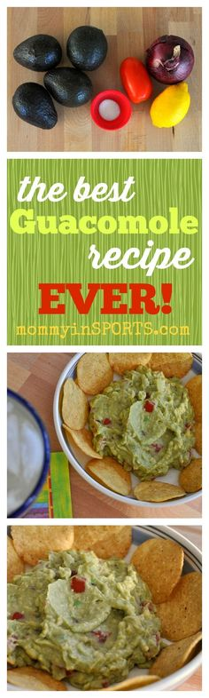The BEST Guacamole Recipe EVER! #healthyeating #recipe #cincodemayo