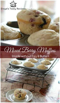 Mixed Berry Muffins-