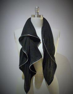 [bamboo zip scarf]