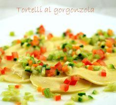 Tortelli al gorgonzola