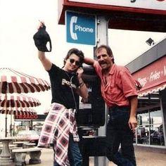 JohnnyDepp tbt with friend (Miami Fl, 1984)
