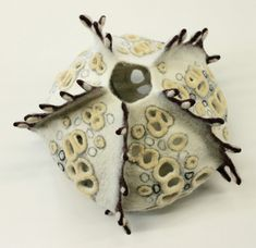 Textile sculpture by Maria Friese