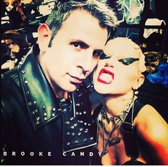 Brooke candy and me diesel Event venice italy