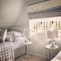 * t r a n s f o r m a t i o n s * We've been looking back at someYou can find Small rooms and more on our website.* t r a n s f o r m a t i o n s * We've been looking back at some Attic Rooms, Keep It Simple, Small Rooms, Looking Back, Blinds, Cushions, Indoor, Bed, Imagination
