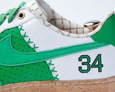 Here Is A Look At A Nike Air Force 1 Paul Pierce Bespoke Sneaker Designed By Layupshot What Do You All Think Of These Sneakers Right Her