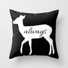 Always - Harry Potter Throw Pillow by Lauren Ward  - $20.00