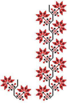 FL227 | www.binecusut.ro | Flickr Cross Stitch Bookmarks, Cross Stitch Borders, Cross Stitch Rose, Cross Stitch Designs, Cross Stitching, Cross Stitch Embroidery, Embroidery Patterns, Cross Stitch Patterns, Hand Embroidery