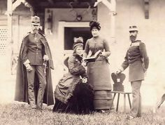 Very unknown photo of Rudolf and Stephanie Kaiser Franz Josef, Franz Josef I, Historical Fiction, Historical Photos, Austria, Impératrice Sissi, Joseph, Old Portraits, Her World