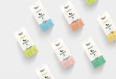 Branding and Packaging for Planty Plant Based Milk / World Brand Design Society Milk Packaging, Print Packaging, Medical Packaging, Label Design, Branding Design, Package Design, Design Design, Graphic Design, Layout Design