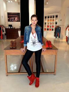 Look casual campera de jean