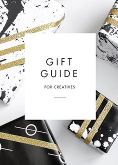 Holiday gift guide for creatives via Creative Riot