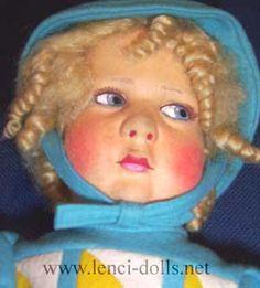 Lenci 300 Series doll, 1925