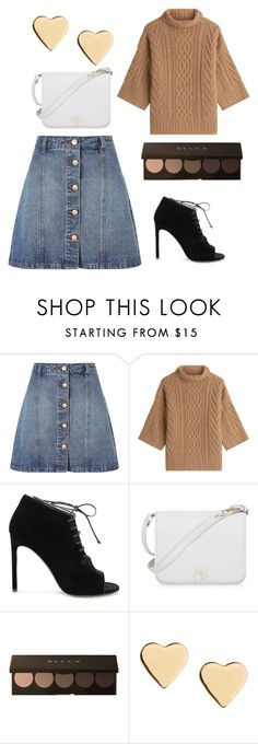 """Без названия #1"" by natasshaq ❤ liked on Polyvore featuring Anita & Green, MaxMara, Yves Saint Laurent, Furla and Lipsy"