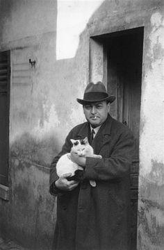 French poet Léon-Paul Fargue, 1937, by René-Jacques