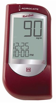 - Advocate Talking Glucose Meter Only Diabetes Care, Cooking Timer, Coding, Kit, Glucose Test, Blood, Free, Programming