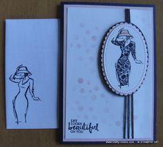 Gorgeous elegant card using the Beautiful You stamp set