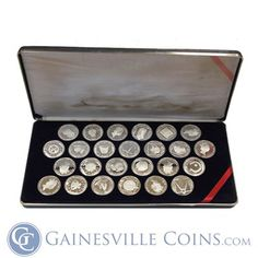 Get the 1985 British Virgin Islands Treasure Coins of the Caribbean 25 Coin Proof Silver Set at Gainesville Coins! Buy Gold And Silver Online! Golden Age Of Piracy, Buy Gold And Silver, Silver Bullion, British Virgin Islands, Gold Coins, Precious Metals, Pirates, Caribbean, Training