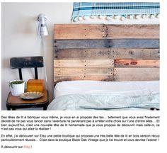 Etsy - Tête de lit DIY