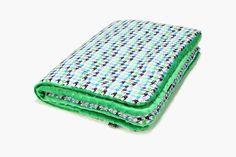New baby green blanket