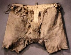 Underpants of Svante Stures murdered in 1567 are now located in © Museum Uppsala, Sweden