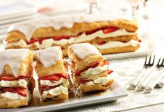 Campbell's Kitchen: Strawberry Napoleons