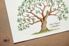 Kate fingerprint tree instant download decoration birthday   Etsy Wedding Fingerprint Tree, Fingerprint Art, Presentation Pictures, Gift Drawing, Memory Tree, Text Pictures, Best Memories, Ink Color, Preschool Crafts