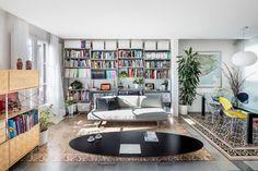 Barcelona apartment renovation by Narch revealing mosaic floors Apartment Renovation, Apartment Design, Interior Walls, Interior And Exterior, Ideas Collage, Barcelona Apartment, Sala Grande, Deco Boheme, Loft House