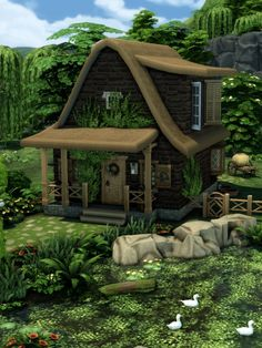 The Sims, Sims Cc, Muebles Sims 4 Cc, Sims 4 House Design, Victorian Style Homes, Sims 4 Build, Sims 4 Houses, Sims Mods, Cottage Living