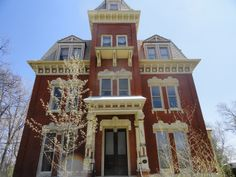 Joliet IL. Haunted mansion, anyone?  This National Landmark Mansion Could Be Yours for $159,900 — Ghosts and All