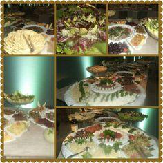 Mesa Arabe e Mesa de Saladas