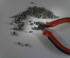 Airgun pellet mould from cheap pliers