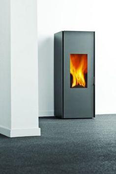 pelletkachel Nestor Martin - 10 kW) ca. Martin L, Home Salon, Cosy, Sweet Home, Interior Decorating, Home Appliances, Wood Stoves, Kitchen, Design