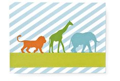 Animal Silhouette Invitation, Pack of 20 on OneKingsLane.com