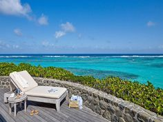 The ultimate spot to put your feet up, relax and read a book on a private island, Petit St Vincent resort, #Carribbean