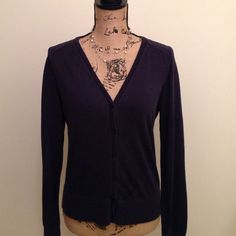 Sweater Light navy sweater great with jeans or skirts. LOFT Sweaters Cardigans