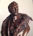 Hrabia Józef Potocki z Antonin (1862-1922). Rzeźba dłuta Jana Biernackiego
