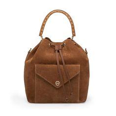 Oversized bucket bag <3 Helena is her name! #leowulff #bucket #bag #cognac
