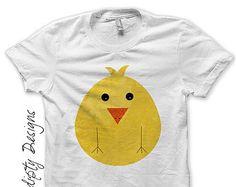 Iron on Chicken Shirt PDF - Farm Iron on Transfer / Kids Farm Birthday Shirt / Custom Toddler Chicken Clothing / Kids Boys Clothing IT260-R