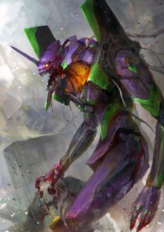 NGE- a savage Eva 01 picture