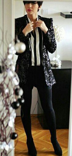Sparkly Black blazer