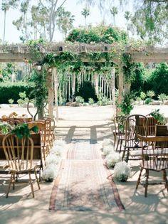 ¿Quieres una decoración de boda diferente? Alfombras y tapices para una celebración muy folk Image: 17