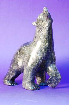 Artist: Nuna Parr, Title: Polar bear, 1991 / ours polaire, 1991